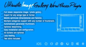 Ultimate Image Gallery Wordpress Plugin