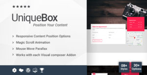Unique Box for all Addon for WPBakery Page Builder (formerly Visual Composer)