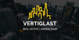 Vertiglast - Real Estate Landing Page