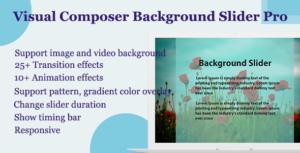 Visual Composer - Background Slider Pro
