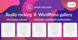 WOW Gallery - Magic WordPress Gallery