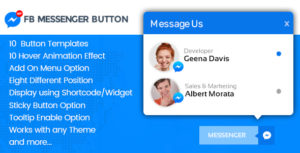 WP FB Messenger Button - Premium FB Messenger Button Plugin for WordPress