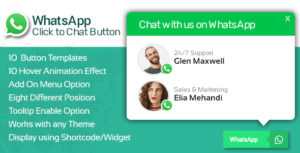 WP WhatsApp Button - Premium WhatsApp Button Plugin for WordPress
