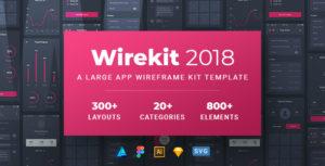 Wirekit - A Modern Multipurpose Wireframe Kit
