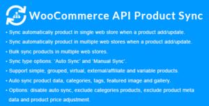 WooCommerce API Product Sync with Multiple WooCommerce Stores (Shops)