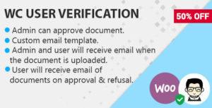 WooCommerce Customer Documents Verification On Order
