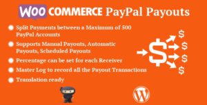 WooCommerce PayPal Payouts