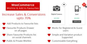 WooCommerce Wishlist & Add to Favourites