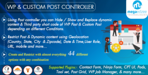 WordPress Post and Custom Post Restrictions   Show, Hide and Append Dynamic Content to Posts