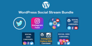 WordPress Social Stream Bundle