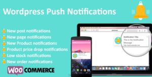 Wordpress Push Notifications - WooCommerce Push Notifications