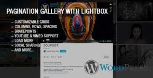 Youtube & Vimeo Pagination Gallery