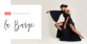 la Barge - Personal Blog PSD