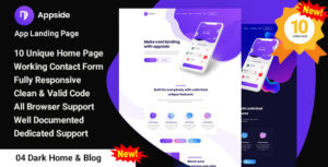 Appside - App Landing Page