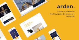 Arden - Multipurpose HTML Template