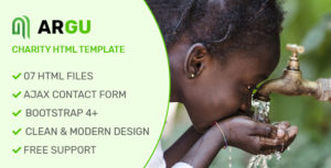 Argu - Charity, Fundraising & Donation HTML Template