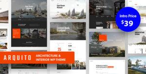 Arquito - 3D Architecture & Interior WordPress Theme