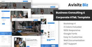 Avisitz Biz - Corporate Business HTML5 Template