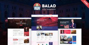 Balad - City Government Html Template