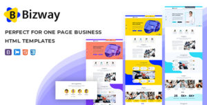 Bizway - One Page HTML Template