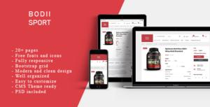 BodiiSport - E-commerce HTML Teplate