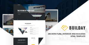 Builday - Modern Architech, Interior And Building HTML Template