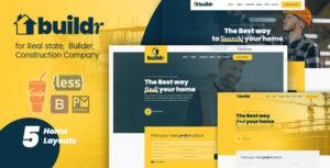 Buildr - Real Estate, Builder & Construction HTML Template