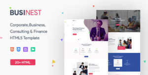 Businest - Business Consulting and Professional Services HTML Template