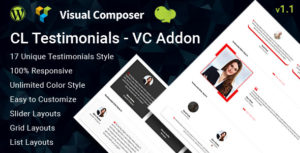 CL Testimonial - Testimonials Add-on for Visual Composer
