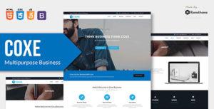 COXE - Corporate Multipurpose HTML Template
