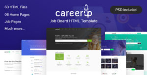 CareerUp - Job Board HTML Template
