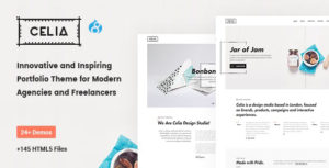 Celia - Innovative and Inspiring Portfolio Drupal 8.7 for Modern Agencies and Freelancers