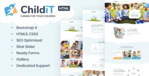 Childit - Kindergarten HTML Template