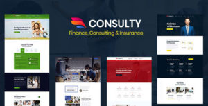 Consulty - Finance Consulting and Insurance HTML Template