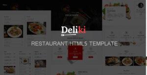 Deliki - Restaurant HTML Template