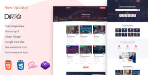 Dirto - Directory & Listing HTML Template