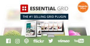 Essential Grid Magento Extension