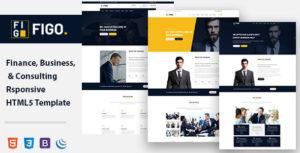 Figo - Consulting finance & Business HTML 5 Template