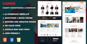 Getfund - Nonprofit, Crowdfunding & Charity HTML5 Template