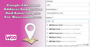 Google Checkout Address Suggestion And Autocompete For Woocommerce