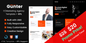 Gunter - IT and Marketing Agency HTML Template