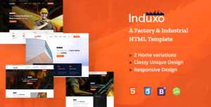 Induxo - A Factory and Industrial HTML5 Template