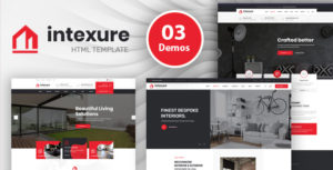 Intexure - Interior Design HTML Template