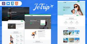 Jetrip - Travel  Multipurpose HTML5 Template