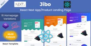 Jibo - React Next App/Product Landing Page