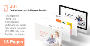 Jot - Creative Agency and Multipurpose Template