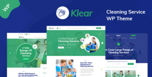 Klear - Cleaning Service Company WordPress Theme