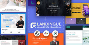 Landingue - Landing and One Page Builder Plugin for WordPress Site