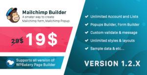 Mailchimp Builder - Addon WPBakery Page Builder (formerly Visual Composer)