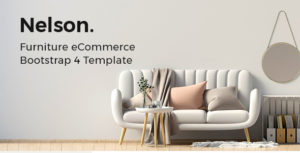Nelson - Furniture Store eCommerce HTML Template